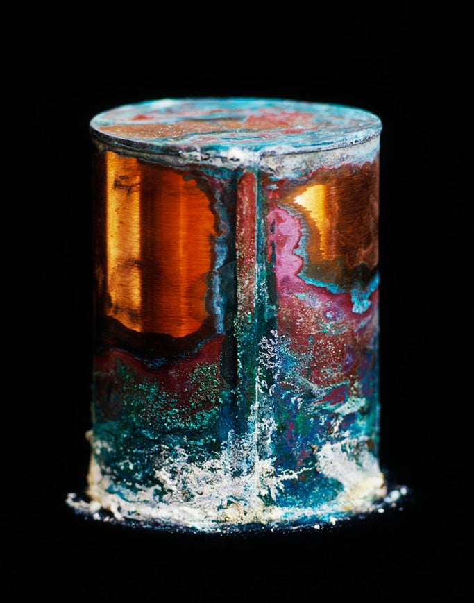 Surprisingly beautiful photographs of decaying cans of human remains