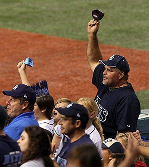 Rays Fans Demand Less Cowbell