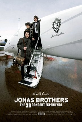 5 Suggestions For Improving the Generally Hideous 'Jonas Brothers Concert Movie' Poster