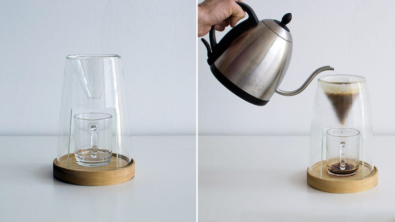 You'll Never Want to Put Away This Elegant Pour-Over Coffee Dripper