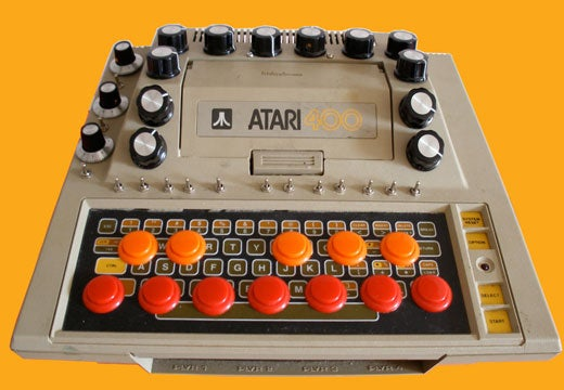 Guy Mods Atari 400 Into Ugly Knob-and-Button-Covered Synth