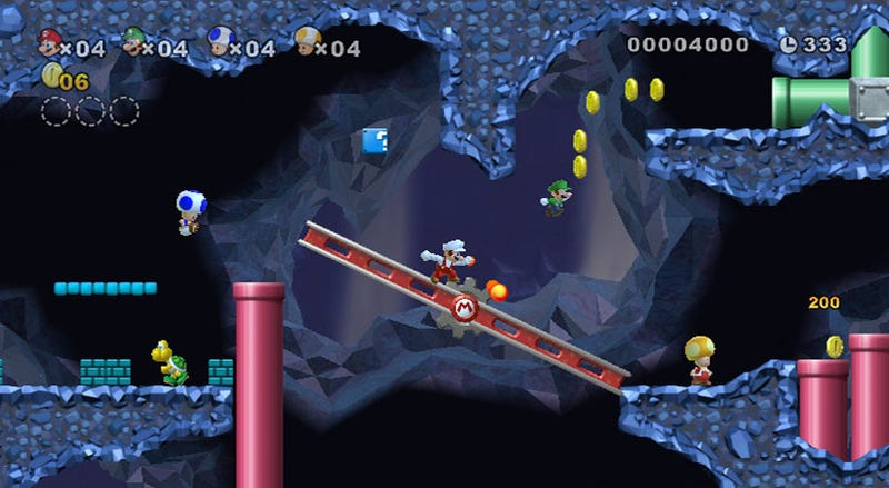 New Super Mario Bros. Wii Preview: Classic Mario, Endless Play