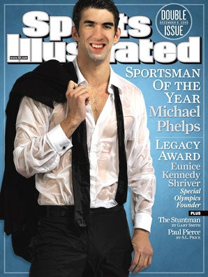 Michael Phelps' Funky Face Is SI's Sportsman of Year