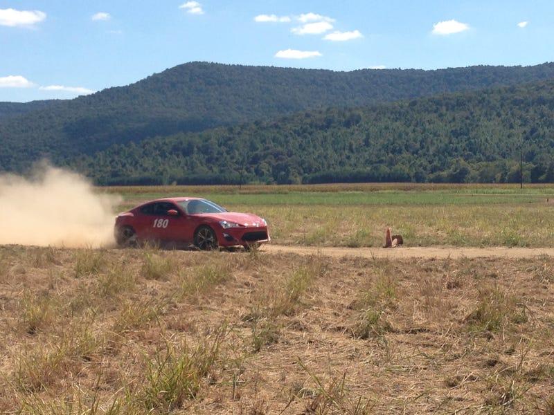 FR-S rallycross photos