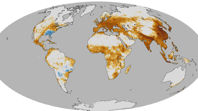 This NASA Map Tells You Where Air Pollution Is Most Likely to Kill You