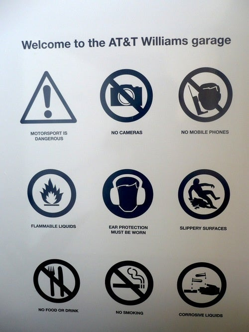 NOTE: Motorsport is Dangerous