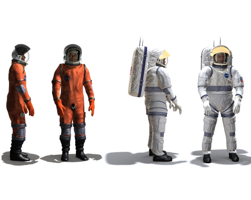 NASA's Next-Gen Space Duds: The Constellation Space Suit System