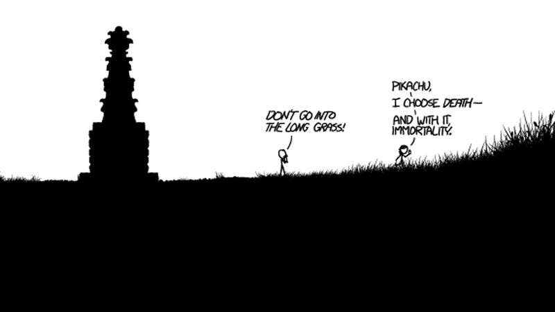 Can You Spot All The Gaming References In Today's Impressively Expansive xkcd Comic?