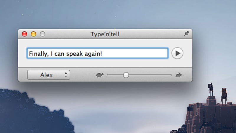 Make Your Mac Speak For You (When You Can't Speak for Yourself)
