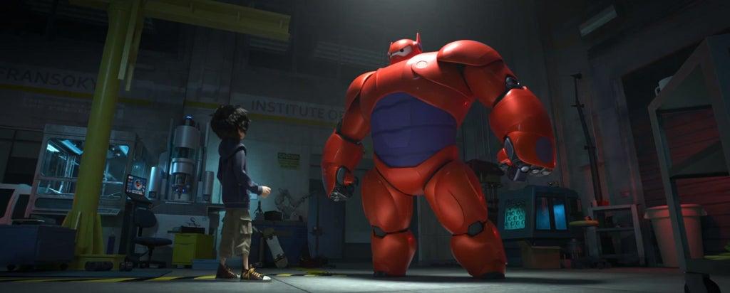 Disney's new Big Hero 6 looks gorgeous