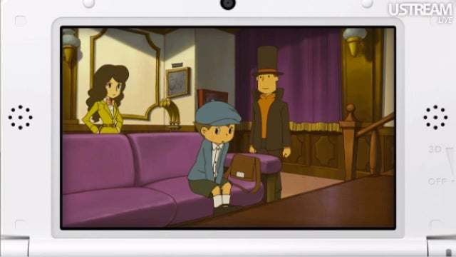 First Look at the New Professor Layton Adventure. It's the Last One.