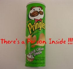 Pringles Can Inventor Buried in a—wait for it—Pringles Can