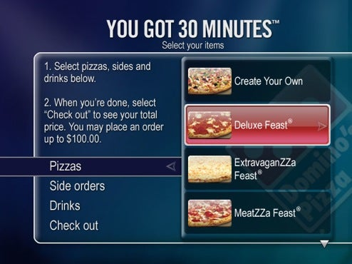 TiVo Completes The Evening TV Dinner: Adds Domino's Pizza Ordering
