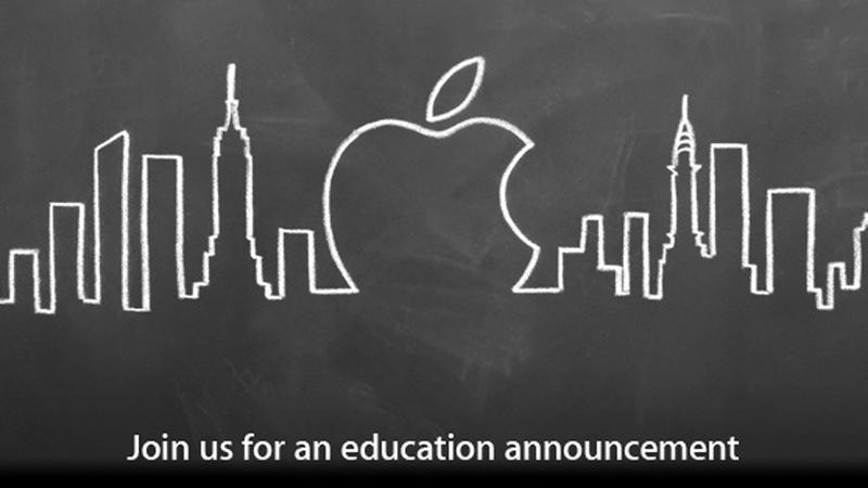 "Is Apple Set to ""Digitally Destroy"" Textbooks This Thursday?"