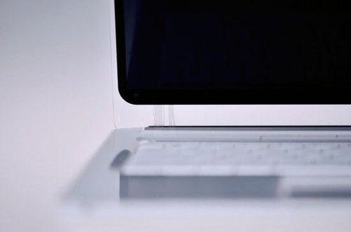 A Simple, Translucent Laptop