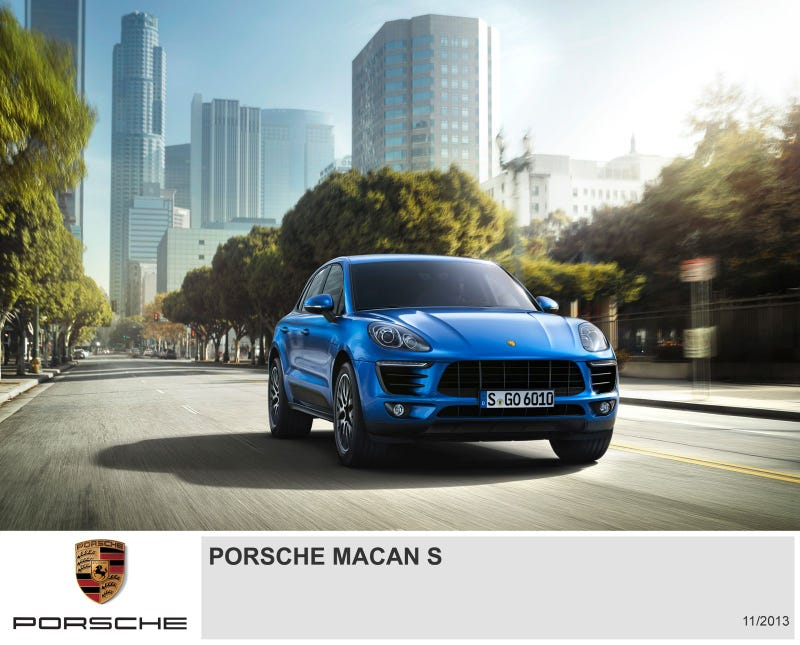 Porsche Macan To Debut At Los Angeles Auto Show