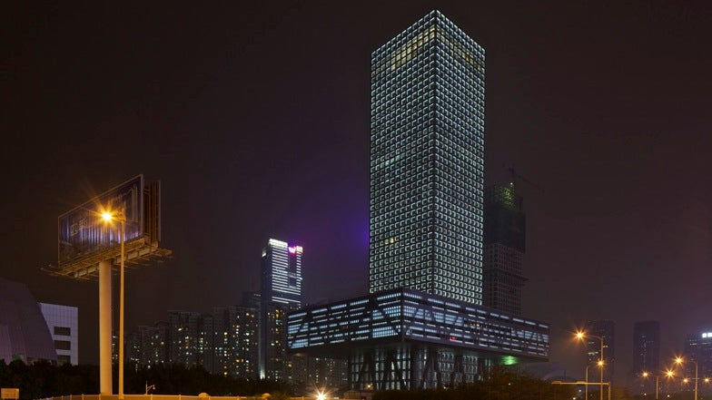 Shenzhen's Massive Floating Stock Exchange Is as Dynamic as Its Tenant