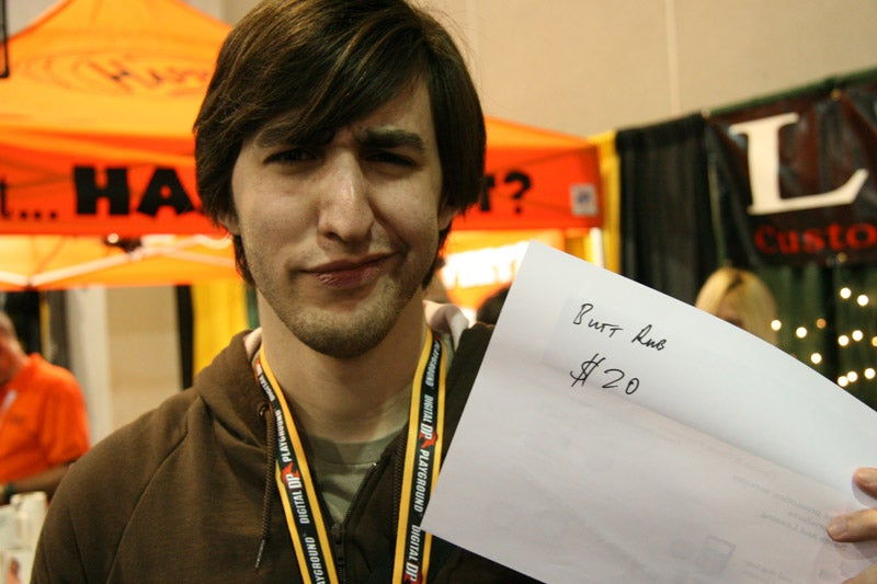 Losing Dignity at AVN: The Best Receipt Ever