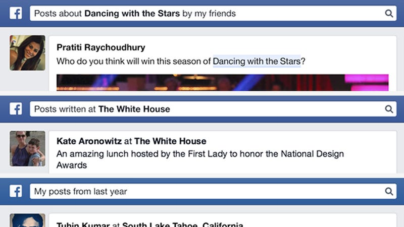 Facebook Is Finally Letting You Search for Old Posts
