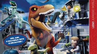 First image of the Lego Jurassic World theme leaked
