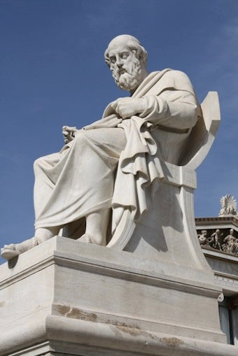 What's Plato's 'Hidden Philosophy'?