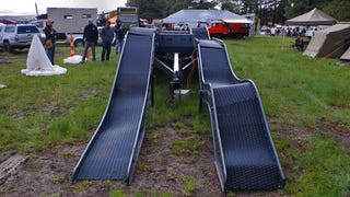 This Trailer Isn't Broken, It's A Portable Off-Road Obstacle