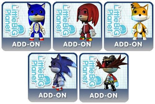Sackboy Gets Furried By Sonic The Hedgehog