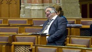 Parafenomén államtitkár lépett fel a Parlamentben, próbáltuk utánozni