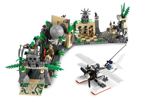 LEGO Indiana Jones Set Collection Whips Us Into a Frenzy