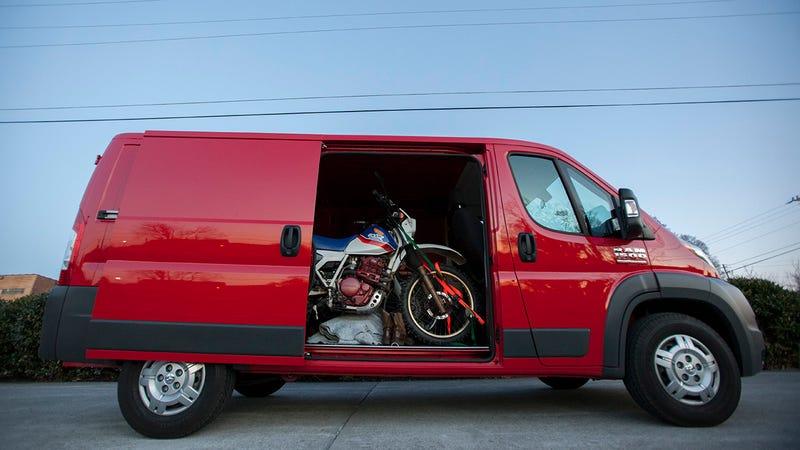 I don't want your stupid pickup. I want a goddamn van.