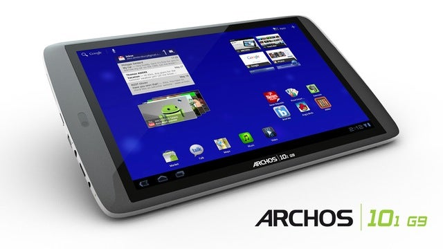 Archos' G9 Android Tablets Have Superfast Processors and... Hard Drives?