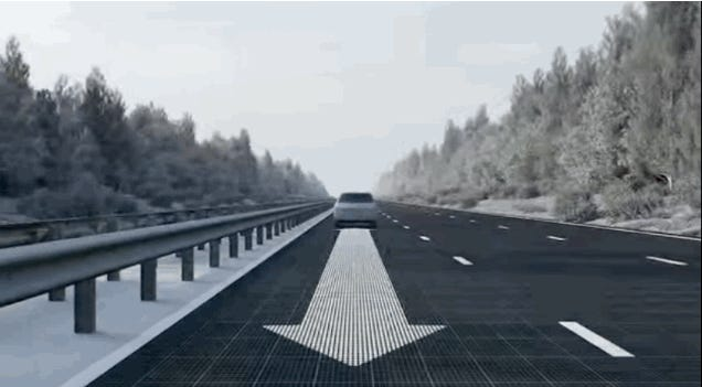 This Intelligent Road Marking System Would Revolutionize Driving