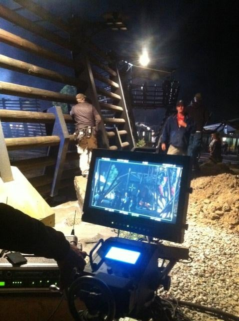Terra Nova Executive Producer Jon Cassar's set photos