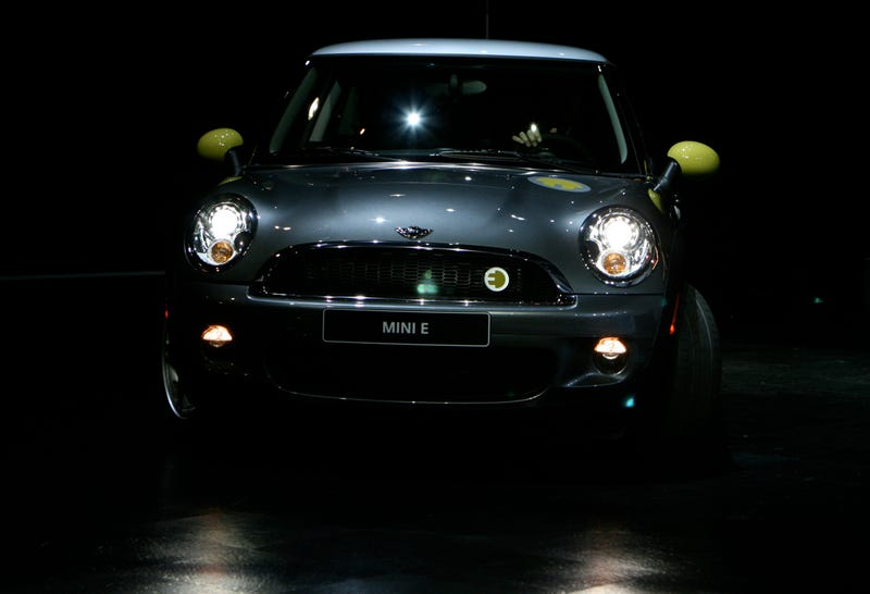 "All-Electric MINI E Hits LA Auto Show Floor With ""Hottest. Deputy Mayor. Ever."""
