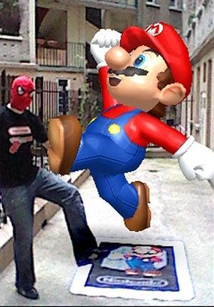 Damn, That's A Big Virtual Mario