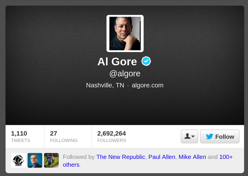 Al Gore Almost Ruined Twitter