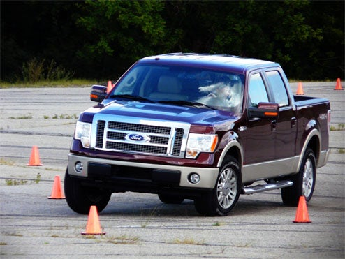 2009 Ford F-150, First Drive