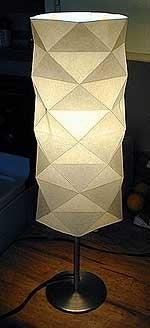 Make an Origami Paper Lamp