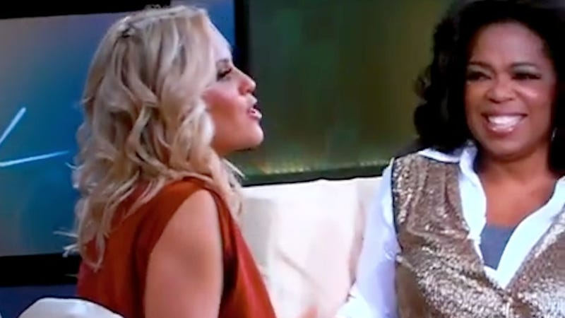 Oprah Says Jenny McCarthy's Not On the Shit List She Doesn't Have