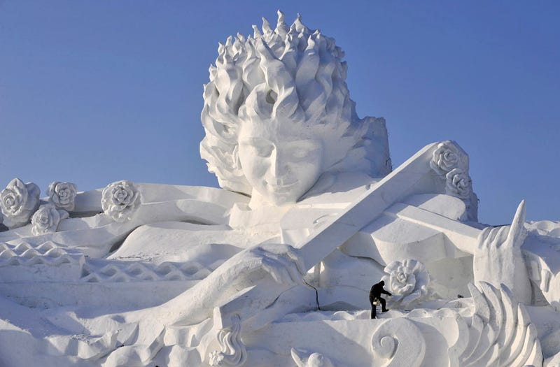 A Winter Wonderland in China