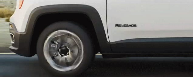 Watch The 2015 Jeep Renegade Go 'Off-Road' For The First Time On Video