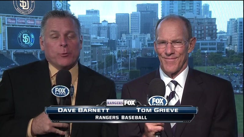Rangers Announcer Dave Barnett To Undergo Evaluation, Will Miss Next Two Broadcasts