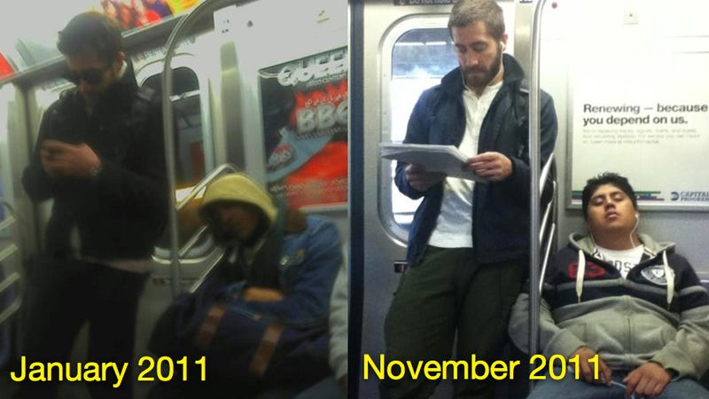 Jake Gyllenhall Spotted On The Subway, Nation Sleeps Through It