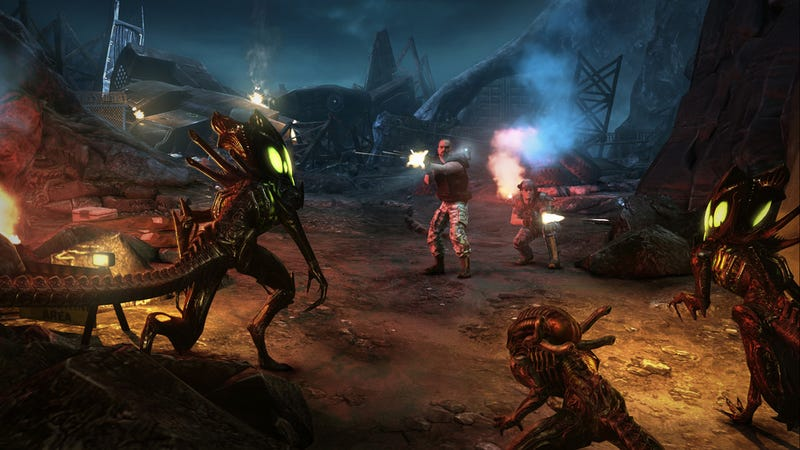 Sega Cancels Aliens: Colonial Marines On Wii U