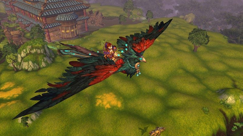 There Are New Mounts Coming to Mists of Pandaria. Like Dragons.