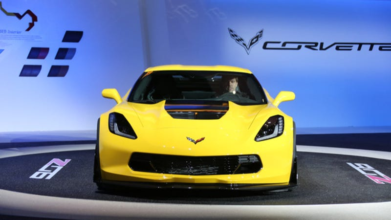 2015 Chevrolet Corvette Z06: A 625 Horsepower Track Car Middle Finger