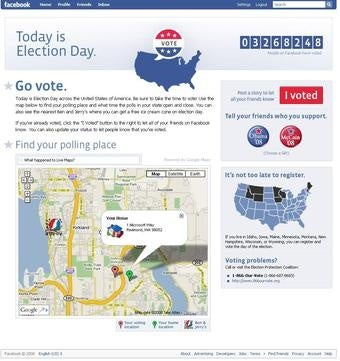 Microsoft's Facebook millions paid back with Google election map