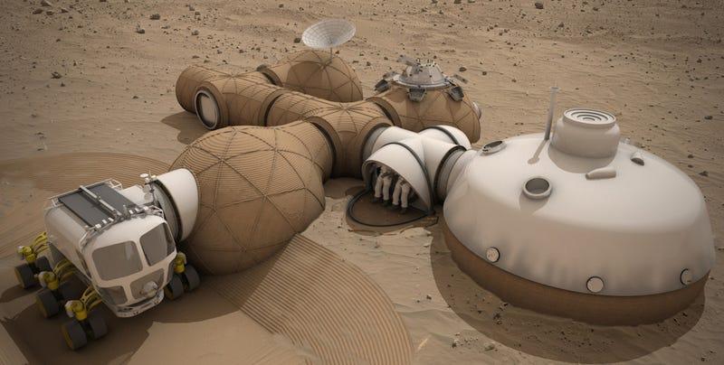El arquitecto Norman Foster diseña una detallada propuesta para una base en Marte