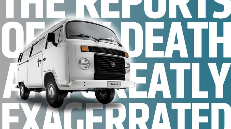Reports Of The Death Of The VW Microbus May Have Been An Exaggeration
