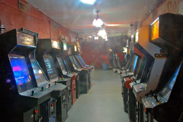 The Last Moments Of A Dying Arcade